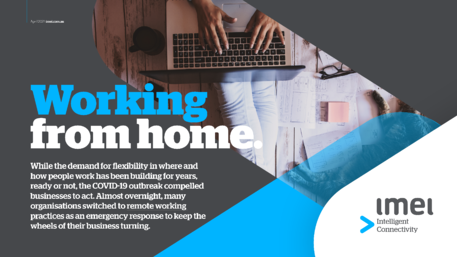imei eBook - Working From Home Cover
